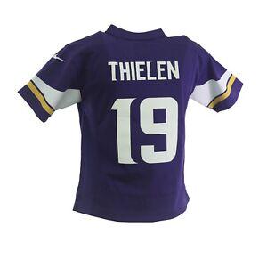 Minnesota Vikings Adam Thielen 19 Official NFL Nike Youth Kids Size Jersey New