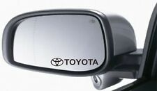 4x Wing Mirror Stickers Fits Toyota Logo Graphics Premium Quality XA91