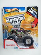 Grave Digger  Monster Jam Truck (X-Rays)(2013) Hot Wheels (Crushable Car)