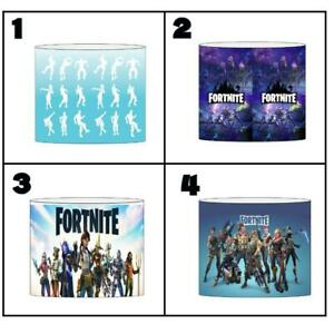 """FORTNITE b Ceiling Light Shade Lampshade 8""""/20cm in 4 DESIGNS FREE POST"""