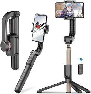XXZU 1-Axis Gimbal Stabilizer Smartphone-0.45lbs Lightweight Foldable Phone Gimb