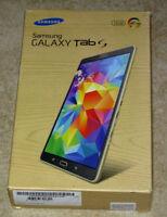 Tablet Samsung Galaxy Tab T705 S 8,4 Zoll 21,3cm 2xQuad 4x 1,9GHz/1,3GHz 3GB LTE