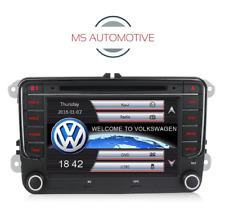 """RNS510 STYLE HD DVD BT SAT NAV 7"""" VW PASSAT TIGUAN GOLF MK6 MK5 POLO EOS CADDY"""