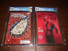 Amazing Spider-Man 700 and 800. Both CGC 9.8 Copies. White Pages