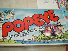 POPEYE GAME - PARKER - 1983 - POPEYE - FUN VINTAGE GAME - 100% - VERY GOOD ORDER