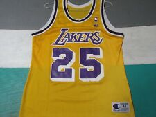 Eddie Jones Los Angeles Lakers Yellow Champion Jersey Sz 44 MINT