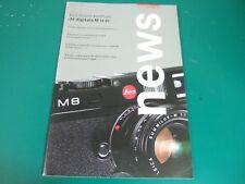 Leica News Leica World 2006/02 Belgie Nederland V-Lux 1 D-Lux 3 Digilux 3 16-21