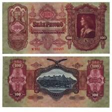 Pick 98 Hungary Ungarn 100 Pengö 1930  VF(very fine) 617974vvv.