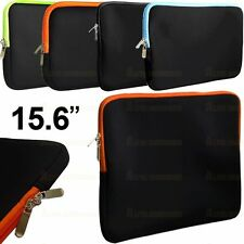 """15.6"""" 15 inch Laptop Notebook Sleeve Zip Case Cover Bag For HP Lenovo Dell New"""