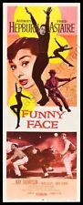 Funny Face 14inx36in Insert Movie Poster Replica