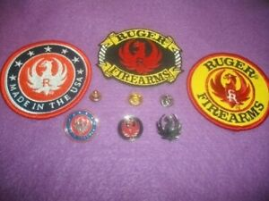 RUGER FIREARMS PATCH & PIN LOT
