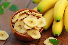 5 x 1 kg Bananenchips - gesüßt getrocknet Banane Bananenscheiben 5 kg