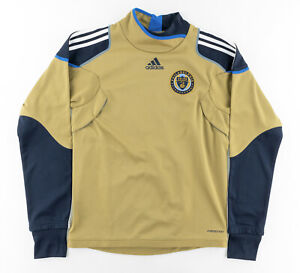 Philadelphia Union Soccer Jersey MLS Union FC Goalie Jersey Long Sleeve Mens S