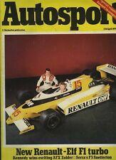 AUTOSPORT 5th APRILE 1979 * FIAT 131 MIRAFIORI SPORT TEST