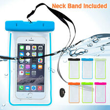 Clear Waterproof Bag Universal Underwater Pouch for Samsung Apple Smartphone