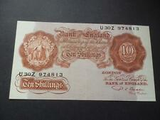 More details for b266 p s beale 1950 ten shilling note in exremely fine condition small spot