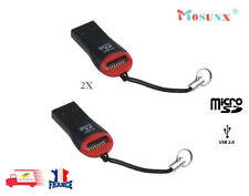 2 Lecteur de carte mémoire USB 2.0 Mini Micro SD T-Flash TF M2