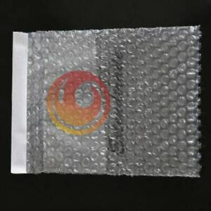 "15pcs 105 x 130+20mm 4""x 5"" Plastic Self Sealing Bubble Envelopes Cushioning Bag"