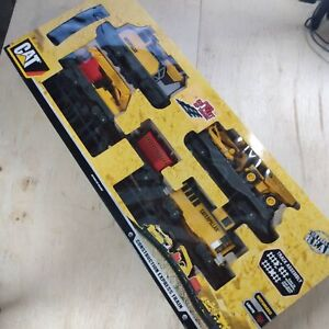 CAT, Caterpillar Construction Express Train Set Toy State Tested w/Video