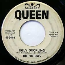 The FORTUNES 45 Ugly Duckling/Nothing Matters... QUEEN doo wop VG+ promo jr1162