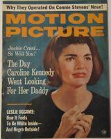 Motion Picture magazine Oct 1964 Jackie Kennedy Beatles JOHN LENNON Eke Sommer +