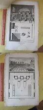 Vintage Print,BLEACHING WAX,Diderot,Encyc of Trade,1775-97