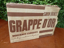 Ancien  savon, 15 Savon bronzé, GRAPPE D'OR dans emballage d'origine non ouvert
