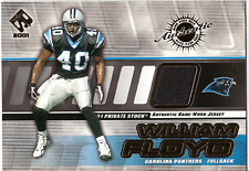 2001 Pacific Private Stock #20 WILLIAM FLOYD Jersey