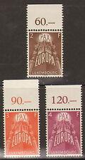 559/2)Luxemburg Mi.-Nr. 572-74 OR Feld 6 **, 1957 Europa, kpl. Satz postfrisch!
