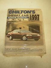 Chilton's Import Car Repair Manual 1993-97 (1996, Hardcover)