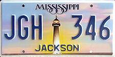 Mississippi BILOXI LIGHTHOUSE License Plate