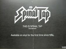 Spinal Tap 2013 Vinyl Release Double Sided promotional poster New Old Stock