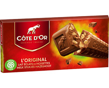 Côte d'Or Milk Hazelnut Chocolate 200g tablet bar - Best Price & FAST UK Post!
