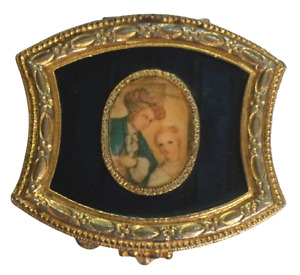 Vintage Estee Lauder Youth Dew Solid Perfume Compact EMPTY