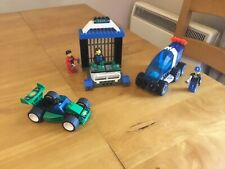 Lego Jack Stone 4608 Bank Breakout With 3 Minifigures- COMPLETE- From 2001