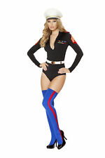 Roma Costume USA 4520 2pc Marine Mama Costume as SHOWN M/l
