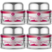 Anti Aging PURE Advanced RETINOL WRINKLE CREAM Age Defying Face Cream (4PK)