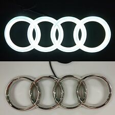 Car Tail Logo Led Light For Audi A1 A3 Q3 Car Badge Light Head Emblems Hot sale