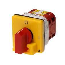 Interruptor de instalación, interruptor principal K & B n16, 031, 9kw, 16a, 4-pol., 48x48, motor interruptor