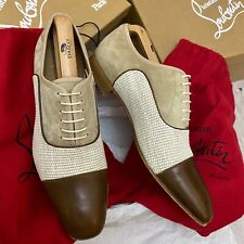 Christian Louboutin Greggo Orlato Havane shoes 9UK 9 43