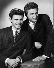 Rock & Roll THE EVERLY BROTHERS Glossy 8x10 Photo Musical Print Country Poster
