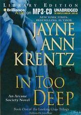 Arcane Society: In Too Deep 10 by Jayne Ann Krentz (2010, MP3 CD, Unabridged)