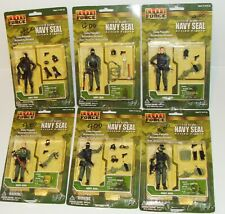 1:18 BBI Elite Force U.S NAVY SEAL Special Ops Action Military Figure Set of 6