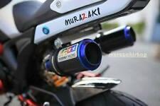 Dual Exhaust full Systems Stainless steel AR race for honda grom Msx125 msx125sf