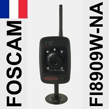 Caméra IP WiFi FOSCAM fixe FI8909W-NA vision nocturne