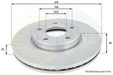 Moprod MBD5486-ADC1912V EQUIV Brake Disc for Ford C-Max,Focus,Volvo c30,S40.V50
