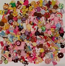 Pieces Assorted Food Cabochons, Cartoon,Cosmetic,sportsball Kawaii Cabochons