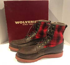 NEW with BOX! Wolverine 1000 Mile Peninsula Boots Men's 11.5