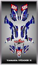 Yamaha YFZ 450R 450X 09-13  ATV QUAD 07- UP SEMI CUSTOM GRAPHICS KIT FLOW