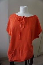 Tommy Bahama Relax Womens sleeveless top Size Medium Orange